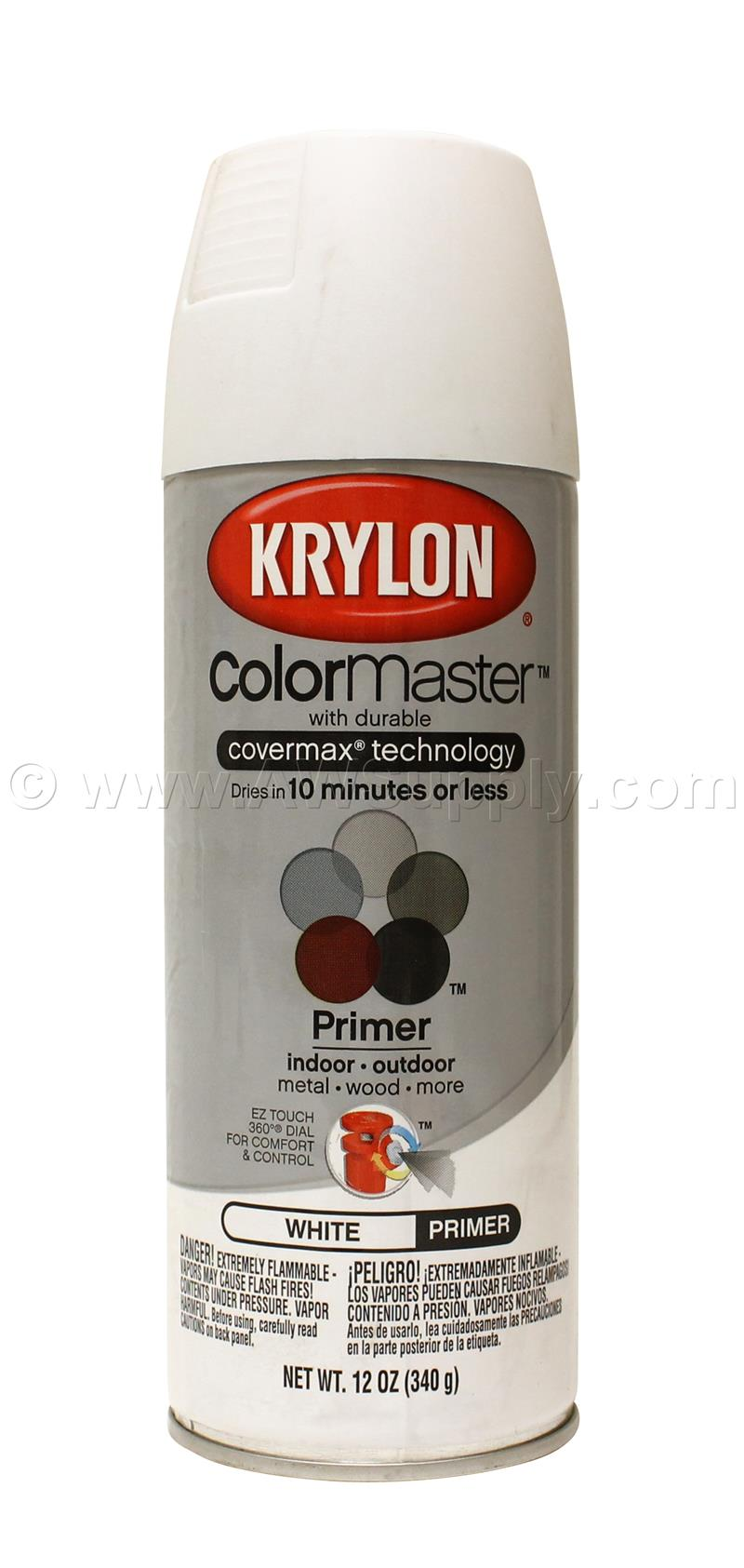 Krylon Spray Paint Primer White